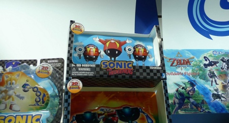 A Jazwares display at a toy fair in London (Found at http://www.sonicstadium.org)